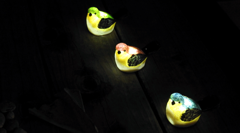 Glowing Birds